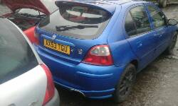 Breaking MG ZR+, ZR+ ZR+ Secondhand Parts