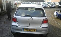 Breaking TOYOTA YARIS, YARIS SR Secondhand Parts