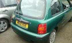 2000 NISSAN MICRA PROFILE 16V breakers