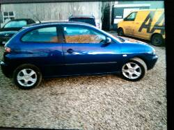 2005 SEAT IBIZA SX breakers