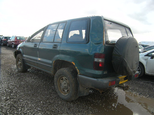 Breaking ISUZU TROOPER, TROOPER DU Secondhand Parts