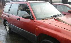 2001 SUBARU FORESTER GLS breakers
