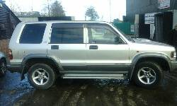 ISUZU Trooper Trooper breakers
