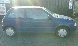 2001 SUZUKI ALTO GL breakers