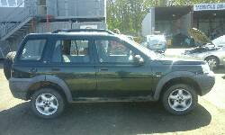2001 LAND ROVER FREELANDER GS breakers