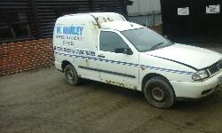 2001 VOLKSWAGEN CADDY DIESEL breakers