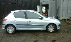 2003 PEUGEOT 206 LOOK breakers